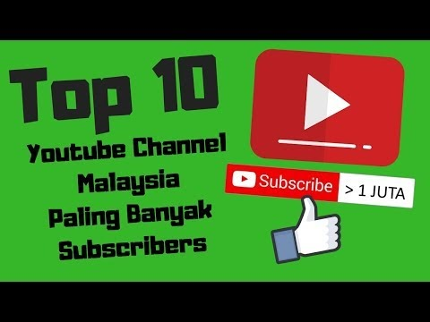 Top 10 Youtube Channel Malaysia 2018/2019