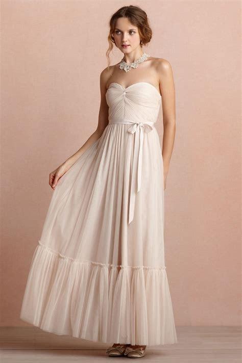BHLDN BHLDN Blush Niceties Dress Size 2 Wedding Dress