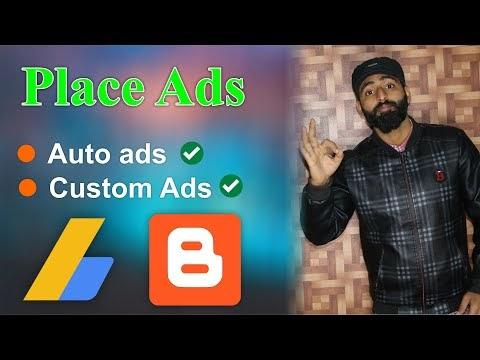 How to Put Ads on Blogger With AdSense | Google AdSense Ads Settings for Double Earning