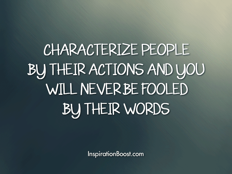Quotes About Words With No Action 16 Quotes