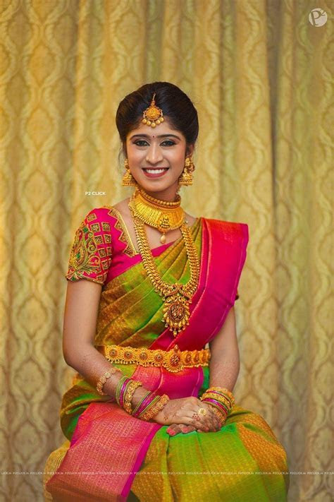 Blouse design   Saree in 2019   Bridal silk saree, Silk