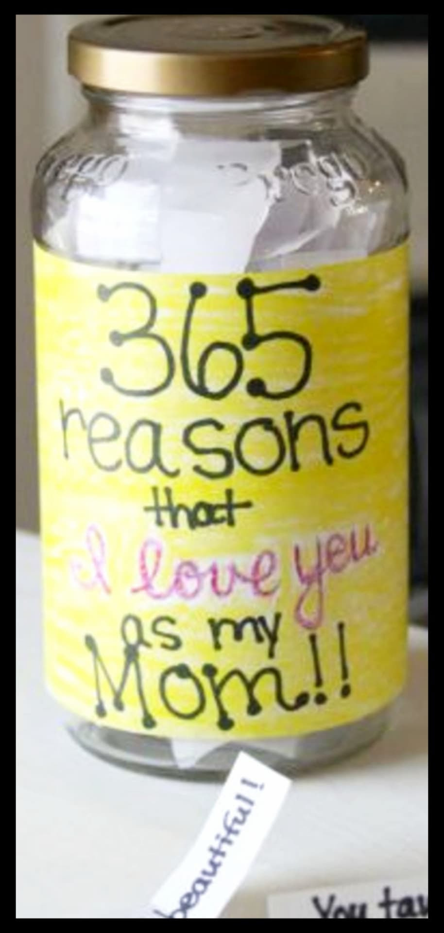 365 Reasons Why I Love You Mom Jar Beauty News