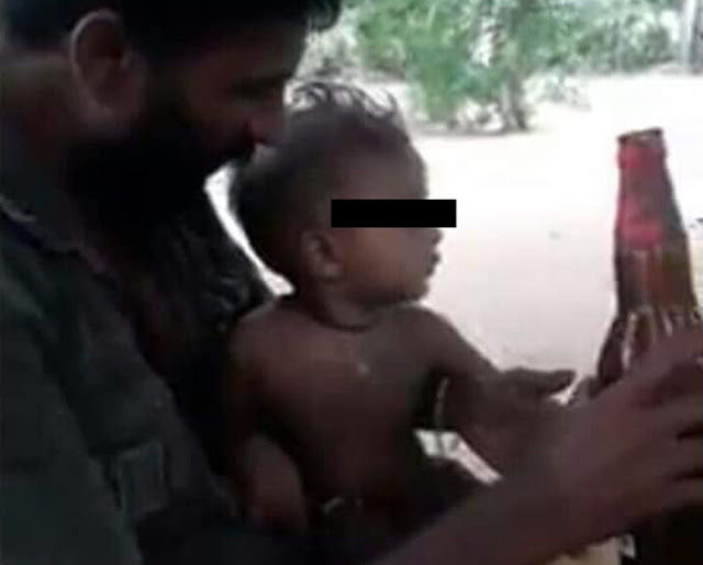 Four individuals, including father who fed alcohol to infant, arrested