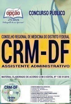Apostila Concurso CRM DF 2018 | ASSISTENTE ADMINISTRATIVO