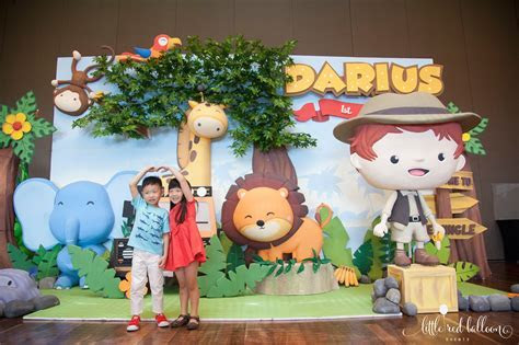 3D Backdrop   Little Red Balloon Singapore