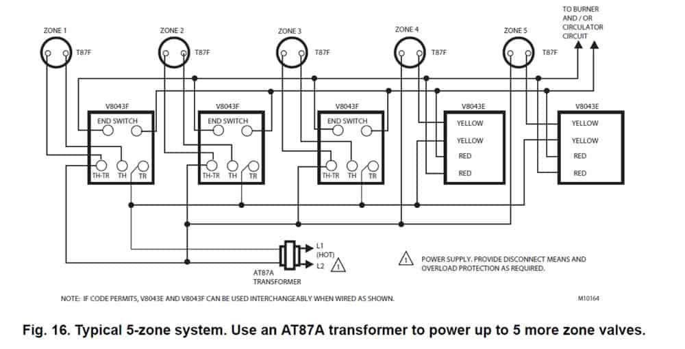Wiring Diagram Taco Zone Valve
