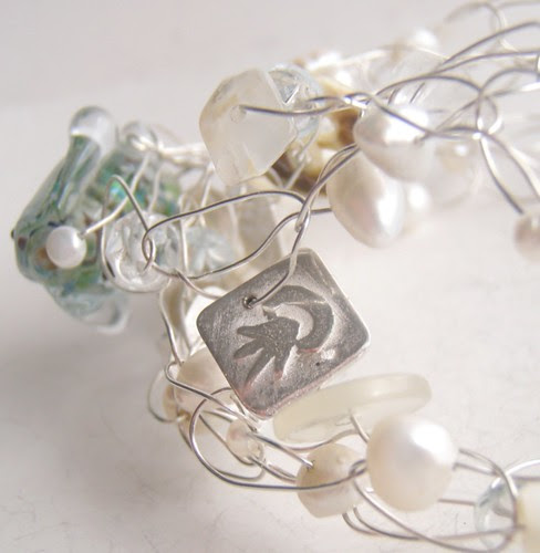 beach bracelet jellyfish