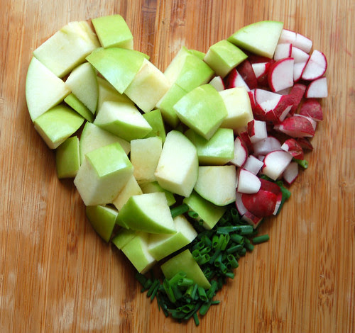 apple radish salad 3