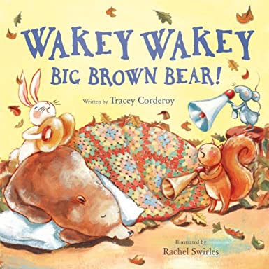 Wakey Wakey brown bear