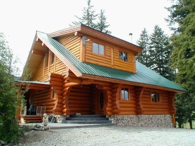Casas de madera prefabricadas cabanas rusticas madera - Cabanas casas prefabricadas ...