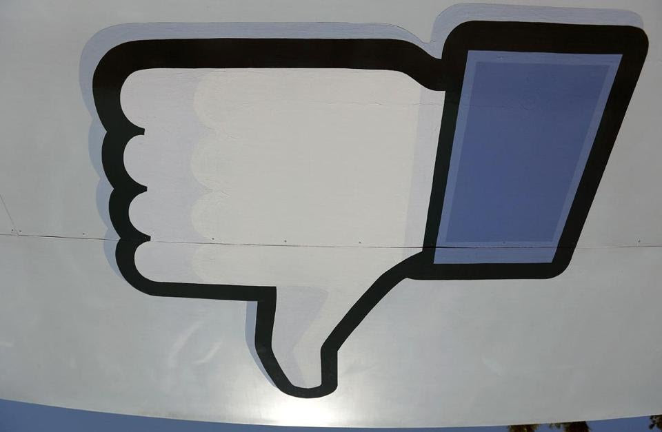 "Mark Zuckerberg, Facebook's cofounder and chief executive, said that Facebook was ""very close to shipping a test"" of a dislike button."