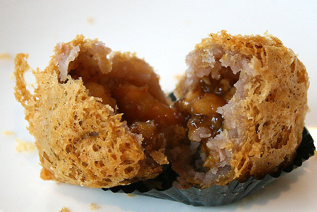 Deep Fried Taro with Assorted Meat