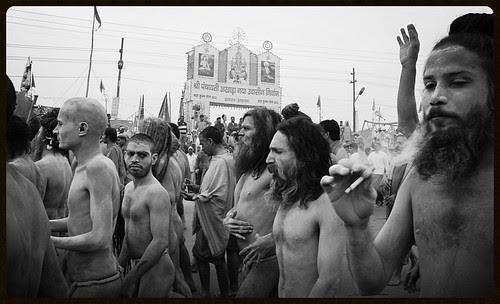Naga Sadhus Shahi Snan Maha Kumbh by firoze shakir photographerno1