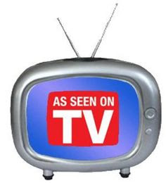 Me and Carolyn work with a variety of As Seen on TV Products here at #360PR, so this is a logo I encounter daily...and also when up watching TV after 2am :)