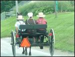 Op een buggy