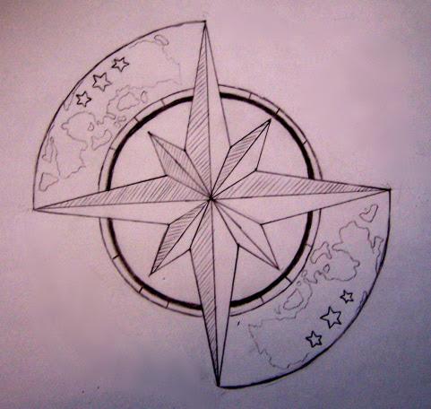 Tattoo Design Of Compass Image Tattoomagz