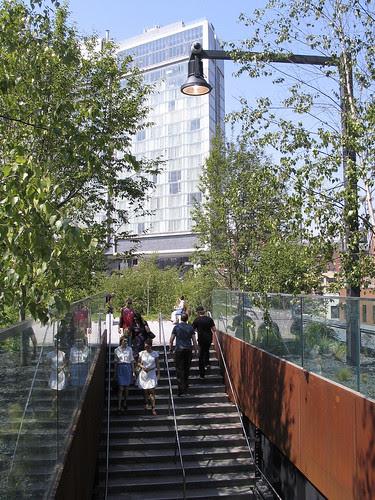 The High Line Entrance