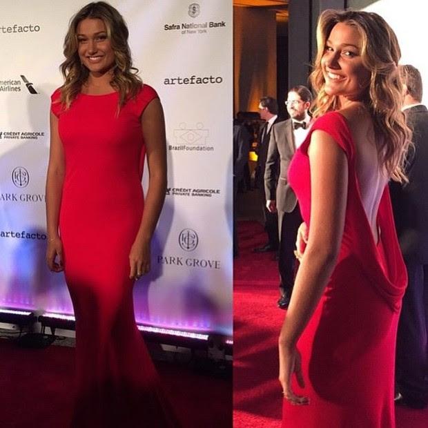 Sasha no BrazilFoundation Gala Miami (Foto: Instagram / Reprodução)
