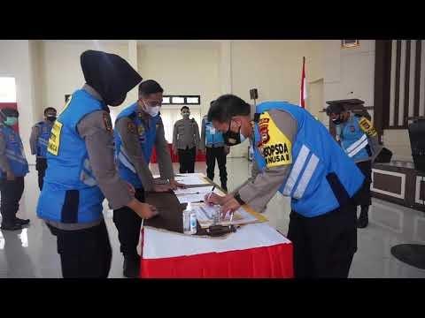 Pelaksanaan Seleksi Rekrutmen Proaktif Dalam Penerimaan Bintara Polri T.A. 2021