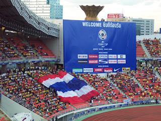 Thai fans, Rajamangala Stadium, July 12