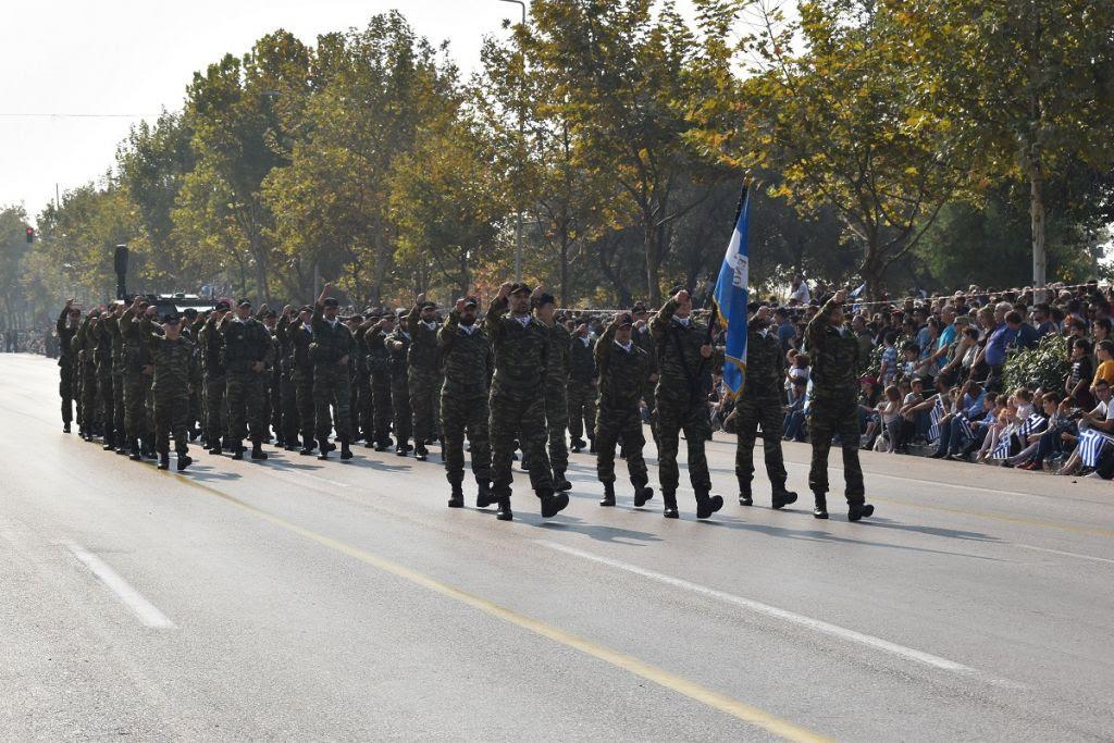 Παρέλαση για την 28η Οκτωβρίου, απο την ΛΕΦΕΔ