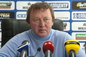 Наставник львовских Карпат Владимир Шаран