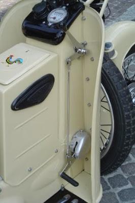 il galletto guzzi: il galletto 160 cc primo tipo