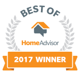 A Better Electrician is a Best of HomeAdvisor Award Winner