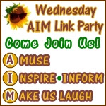 Wednesday AIM Link Party Button