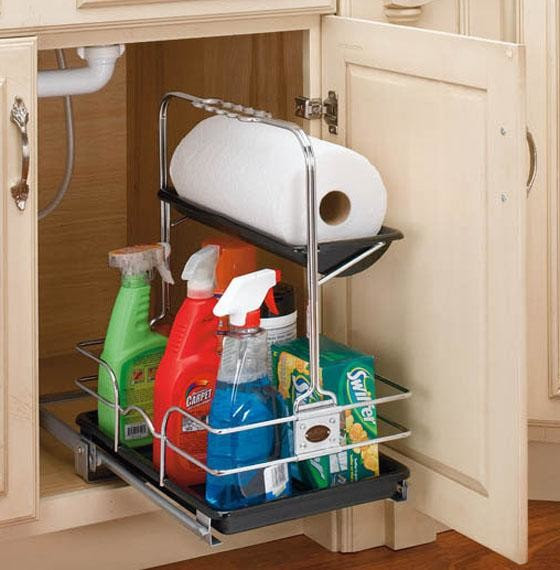 Rev-a-Shelf Removable Under-sink Caddy - Eclectic ...