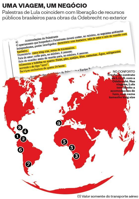 Um mapa, um negócio (Foto: Revista ÉPOCA/Reprodução)