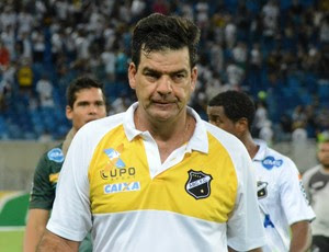 Moacir Júnior - técnico do ABC (Foto: Frankie Marcone/Divulgação/ABC)