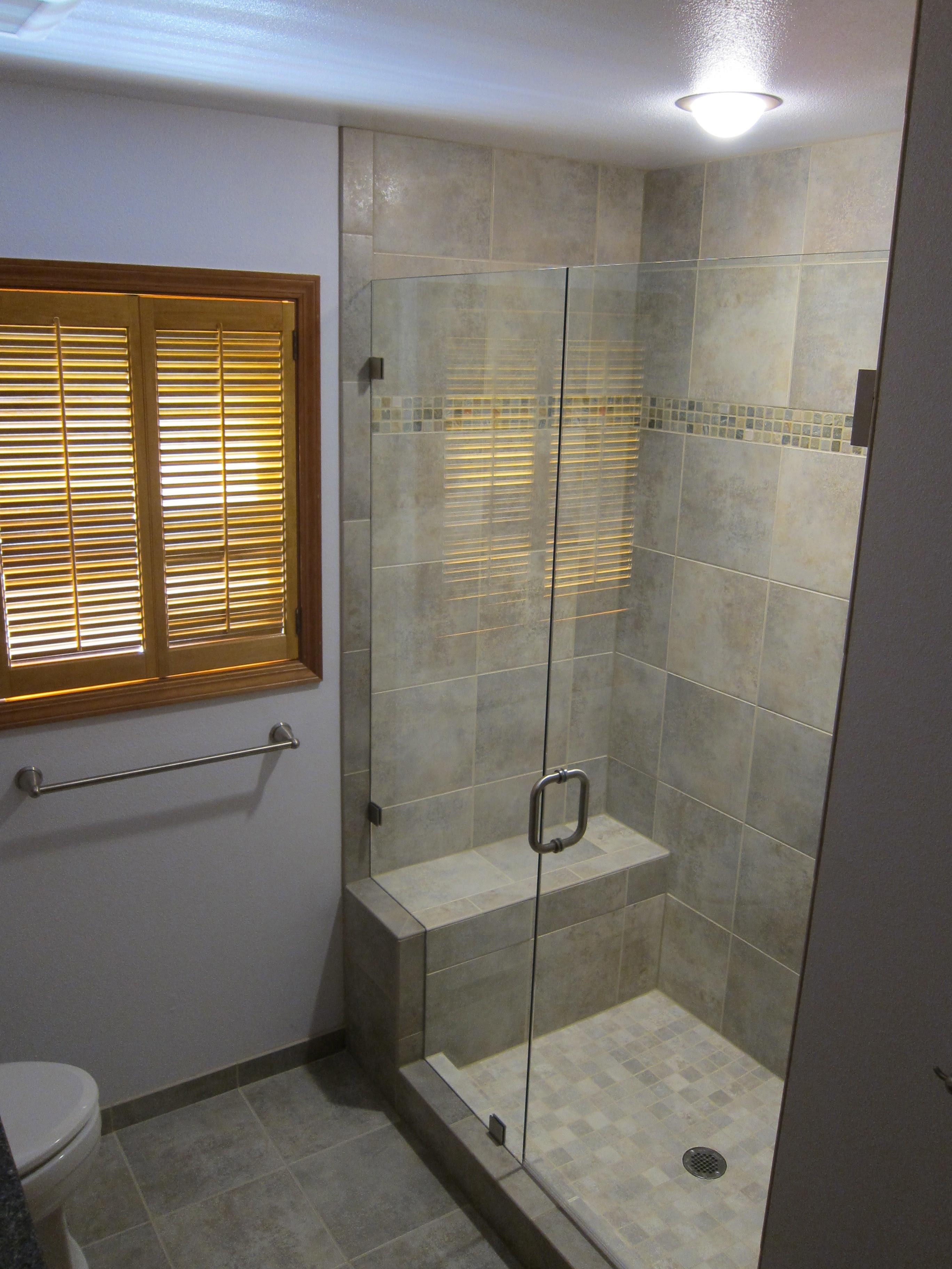 shower seat | Alex Freddi Construction, LLC.