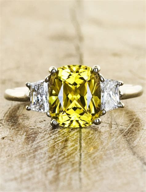 Best 25  Yellow sapphire rings ideas on Pinterest   Buy