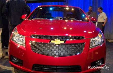 chevrolet cruze at paris auto show preview. General Motors gave a preview of
