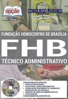 Apostila TÉCNICO ADMINISTRATIVO Hemocentro 2017