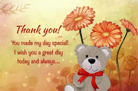 Thank You For Making Me Feel Special Free For Everyone Ecards 123