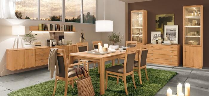 dining set modern wood