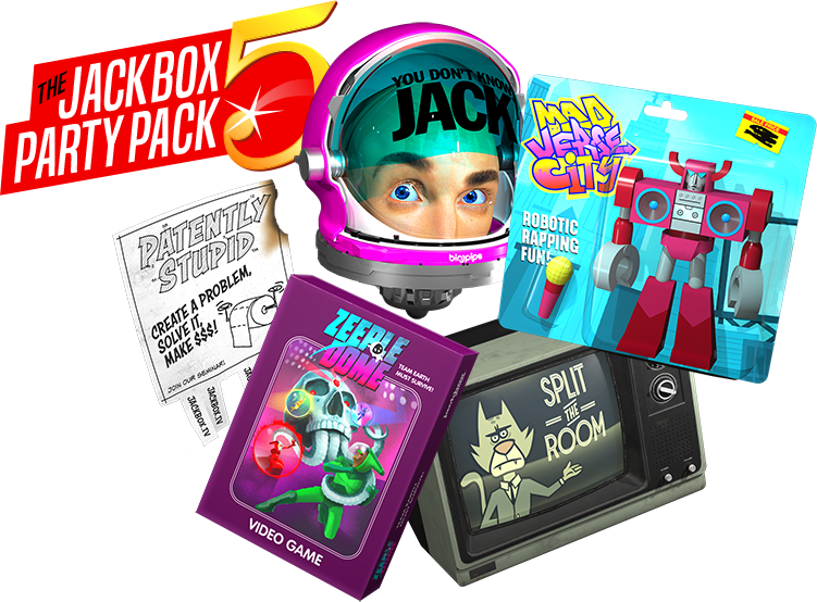 Jackbox Party Pack 5 coming October 17 to everything ...