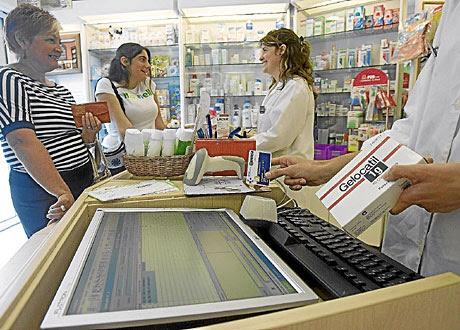 Una farmacia en el País Vasco. | Mitxi