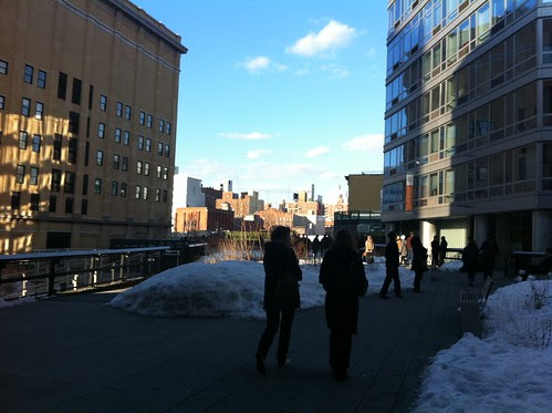 On the High Line, February 6, 2011