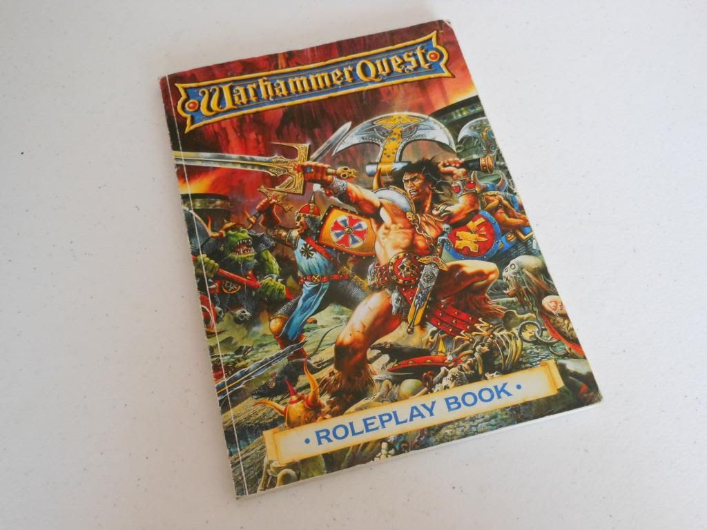 Warhammer Quest roleplaying book