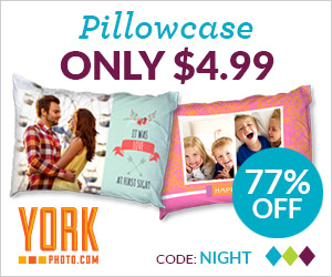 Custom Photo Pillowcase – Just $4.99 – Save $17 On Each!