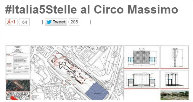 """M5S, Grillo: """"Manifestazione in piazza al Circo Massimo anche senza permesso"""""""