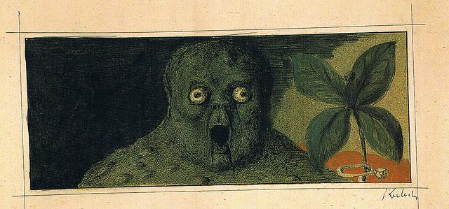Alfred Kubin - Die Einbeere
