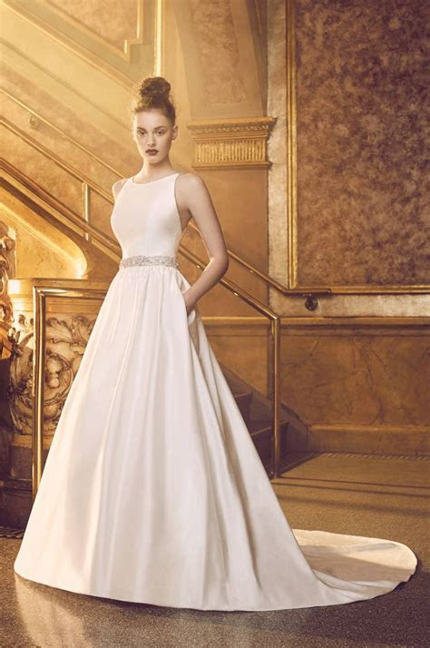 17 Best ideas about Silk Wedding Gowns on Pinterest   Silk
