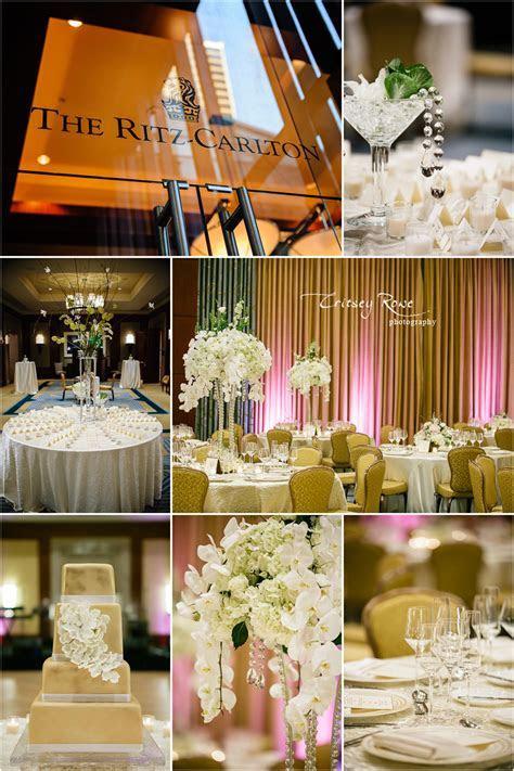 Ritz Carlton Charlotte Wedding and Reception Part II of II