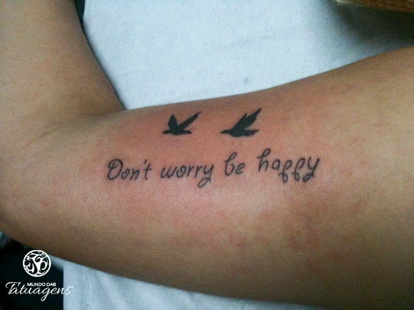 Don\'t worry be happy