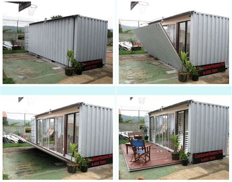 jetson green simple  cozy shipping container