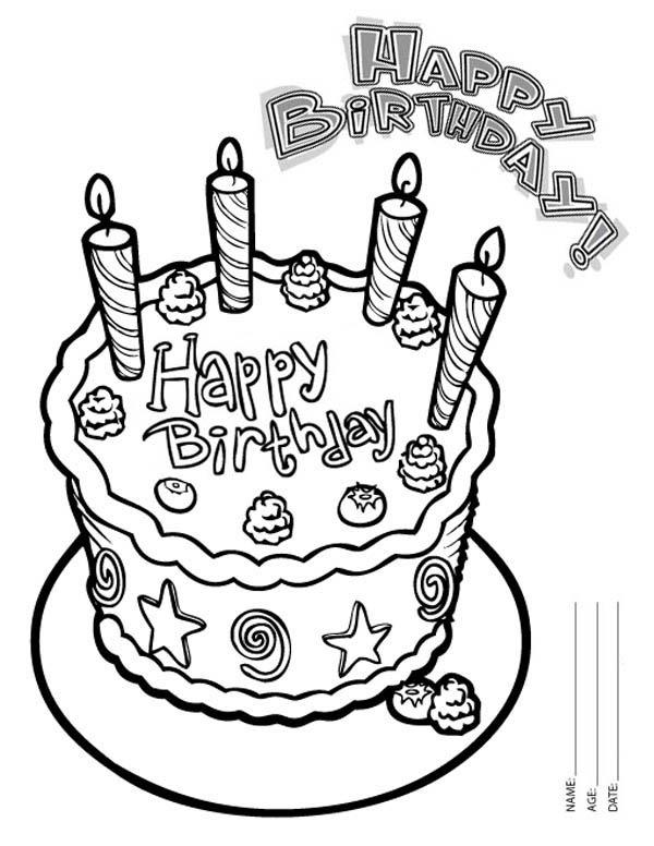 Grandma Birthday Coloring Pages at GetColorings.com | Free ...